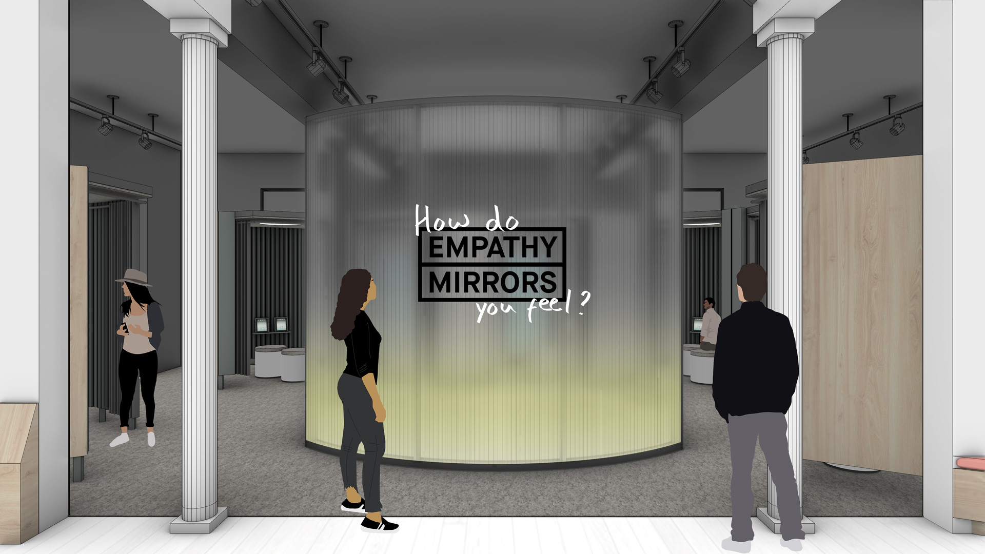 entry to the empathy mirrors